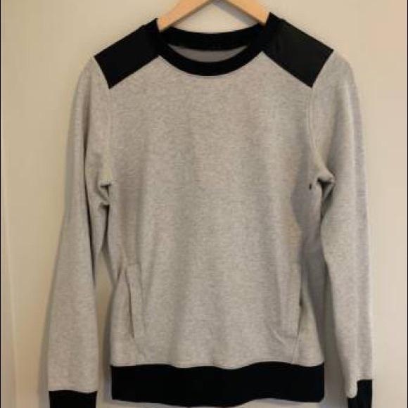 Lululemon lab pullover cotton sweater